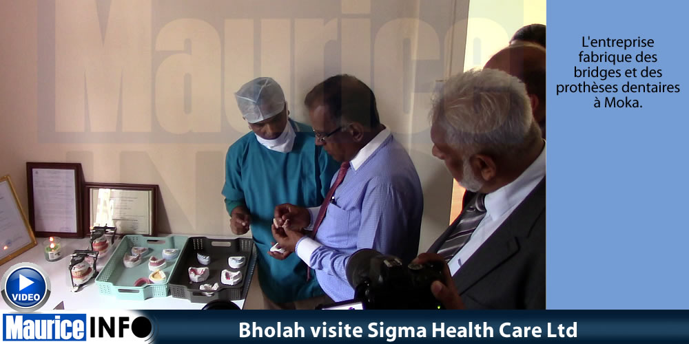 Bholah visite Sigma Health Care Ltd
