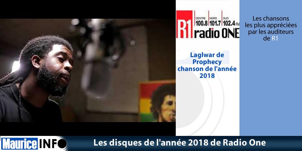 Les disques de année 2018 de Radio One