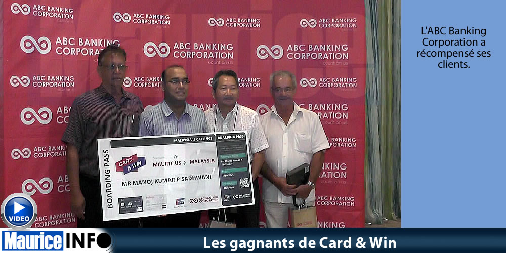 Les gagnants de Card & Win