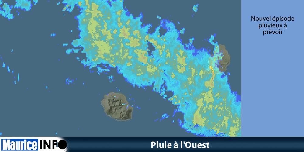 Pluie à l'Ouest ©Météo France