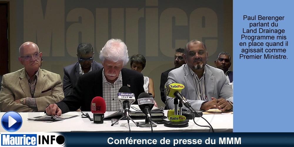 Conférence de presse du MMM du 2 Février 2019