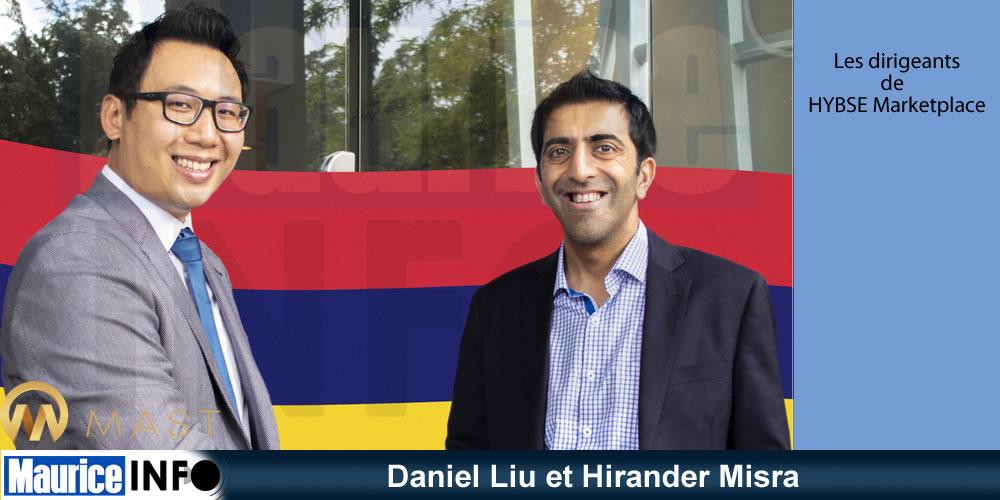 Daniel Liu et Hirander Misra