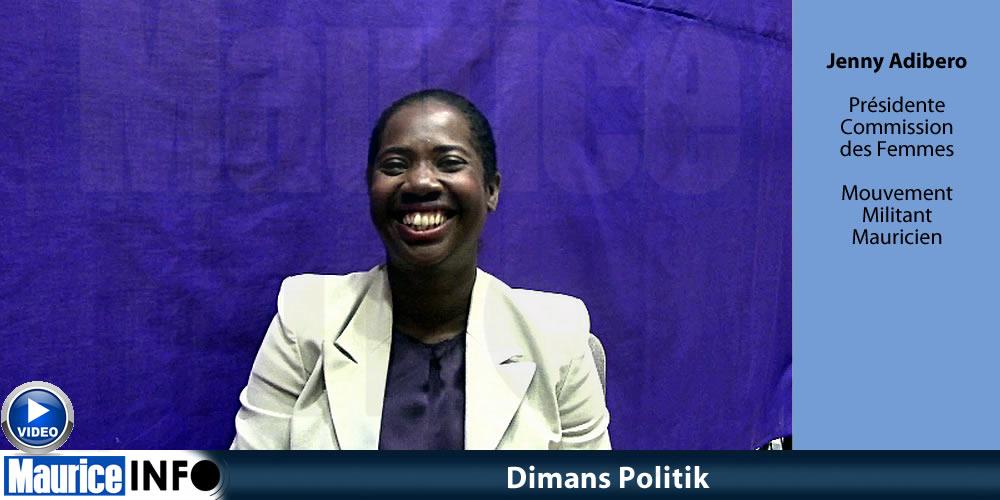 Dimans Politik de Jenny Adibero, Mouvement Militant Mauricien