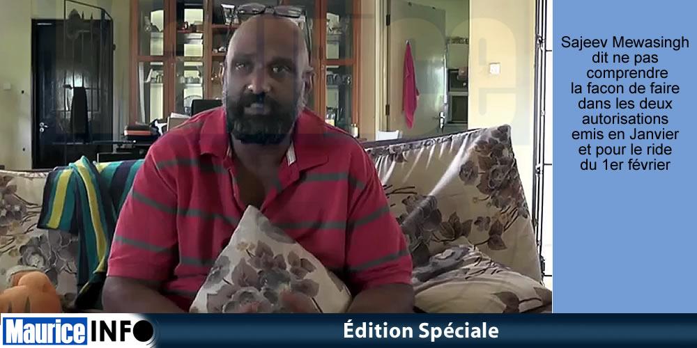 Edition Spéciale - Sajeev Mewasingh