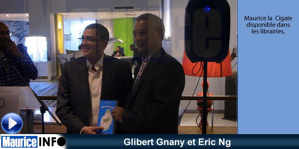 Glibert Gnany et Eric Ng