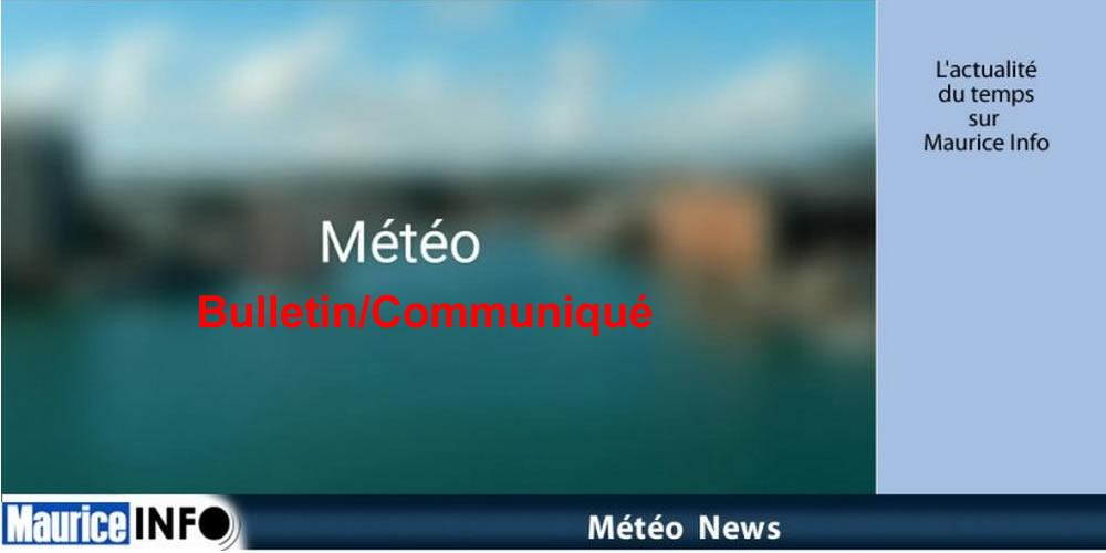 Bulletin de la Météo.