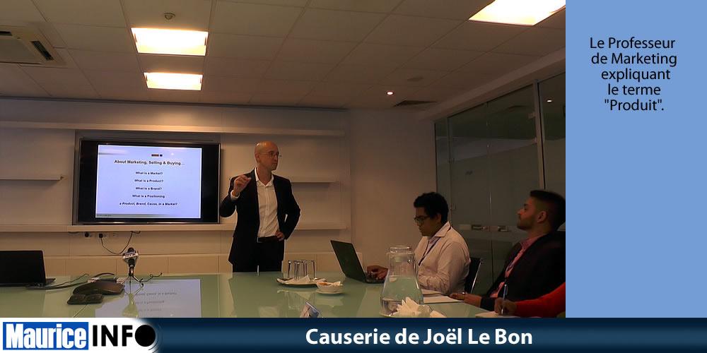 Causerie de Joël Le Bon