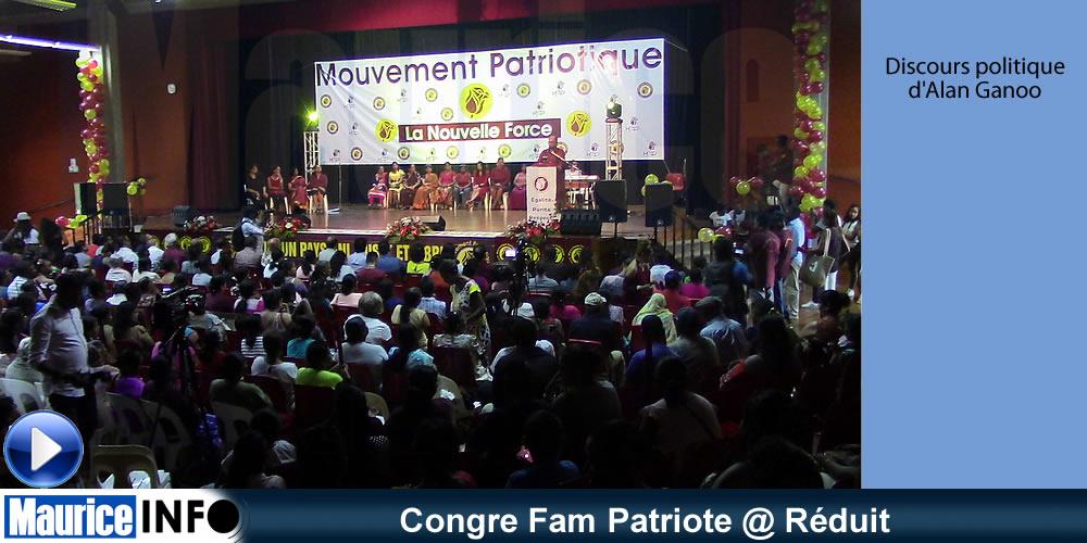 Congre Fam Patriote @ Réduit