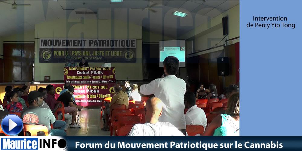 Forum du Mouvement Patriotique sur le Cannabis