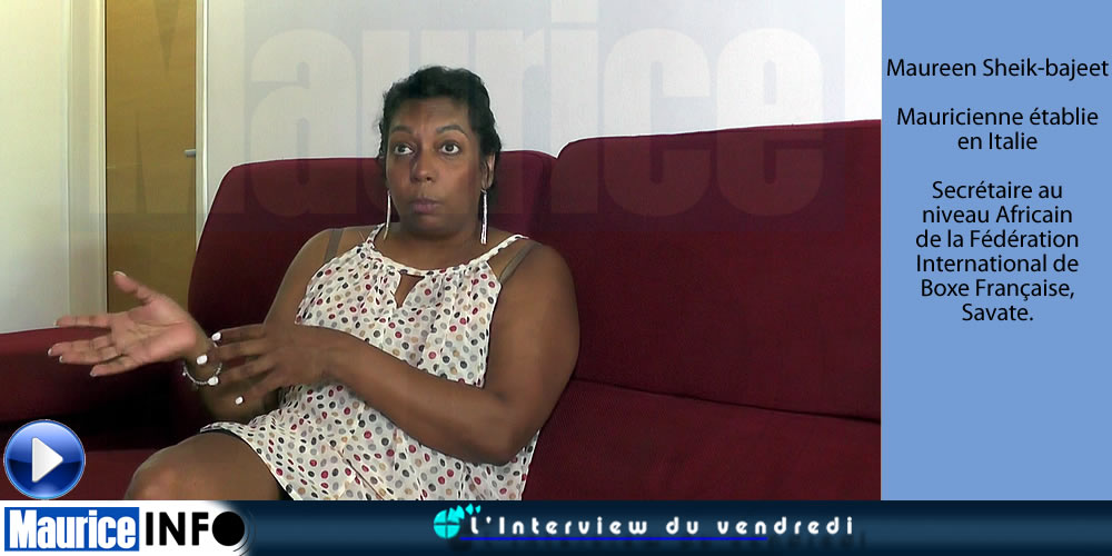 Interview du Vendredi de Maureen Sheik-bajeet