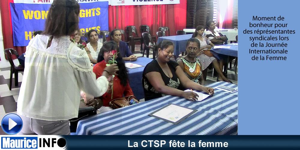La CTSP fête la femme