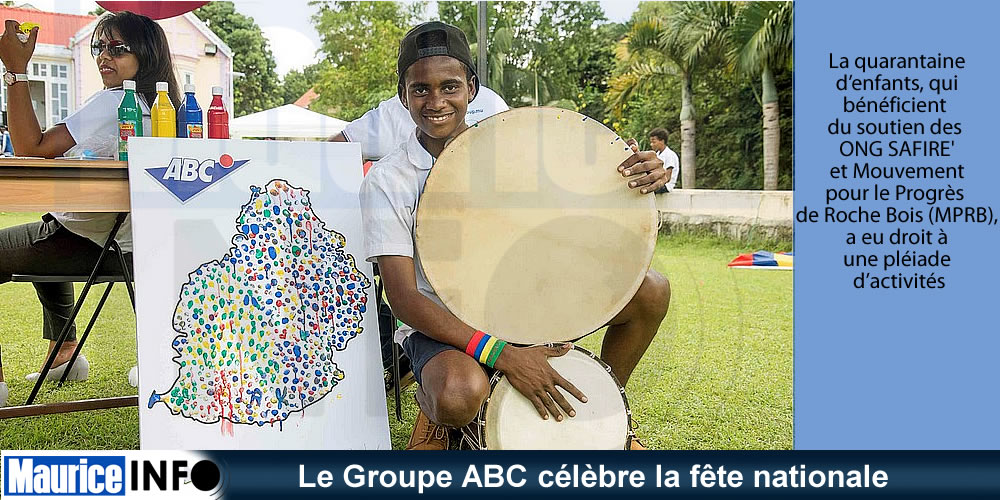 Le Groupe ABC célèbre la fête nationale