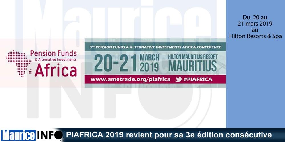 PIAFRICA 2019 revient pour sa 3e édition consécutive