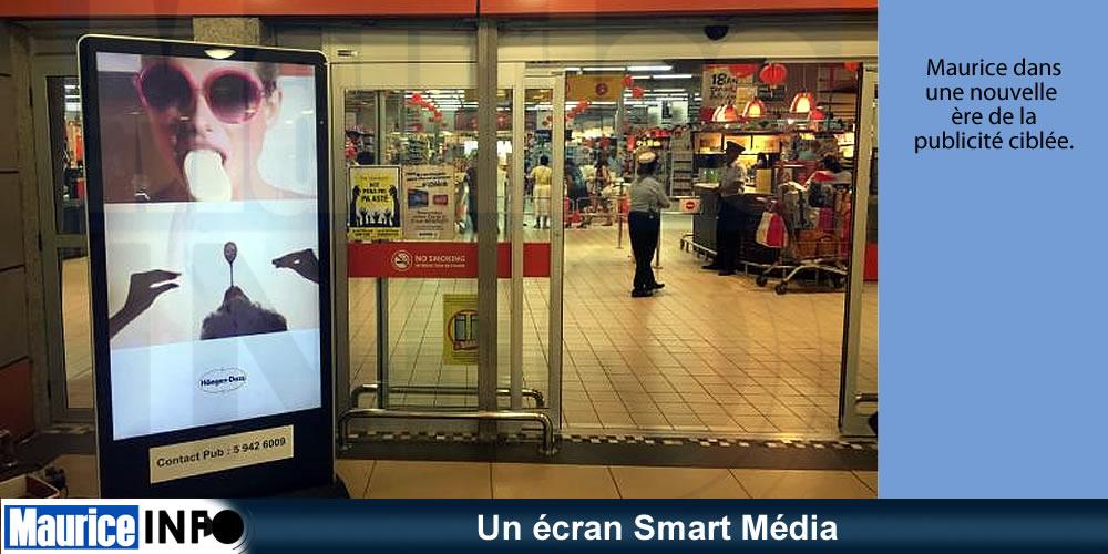 Un écran Smart Média