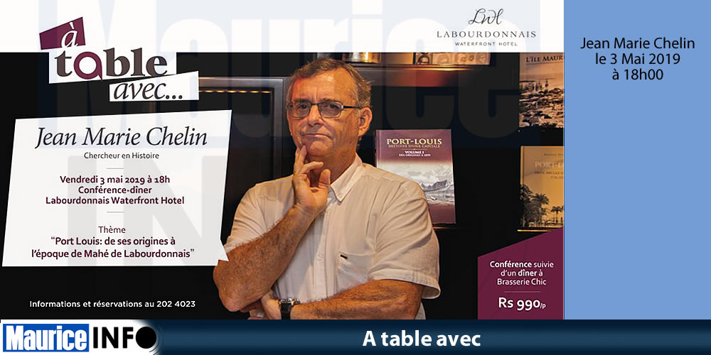 A table avec Jean Marie Chelin