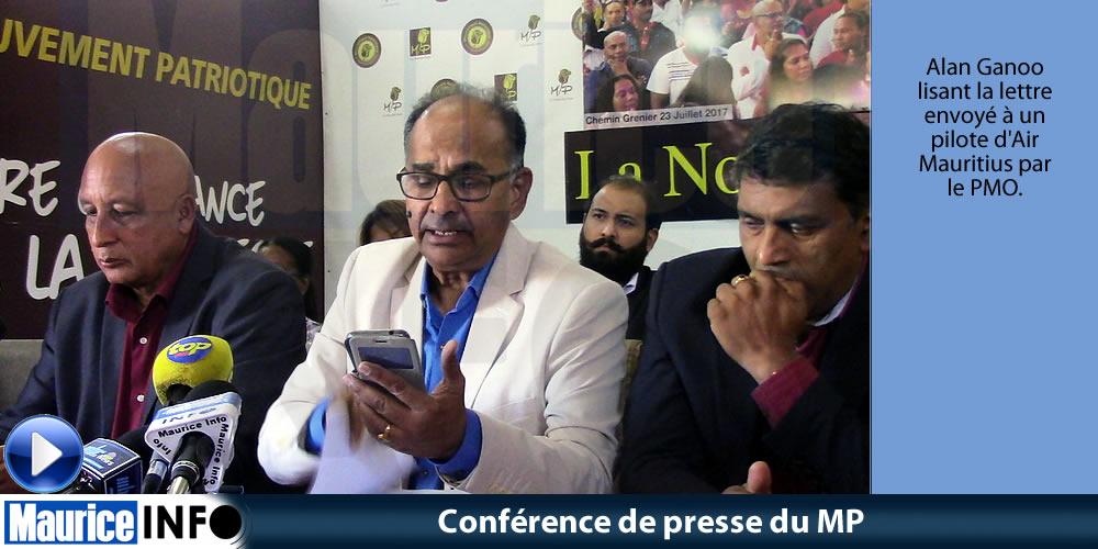 Conférence de presse du MP du 27 Avril 2019