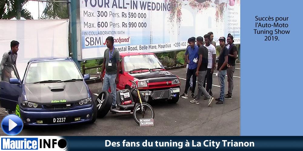 Des fans du tuning à La City Trianon