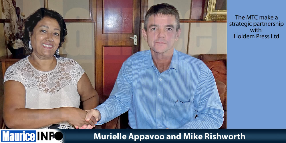 Murielle Appavoo and Mike Rishworth