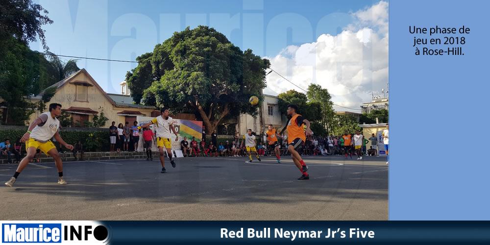 Red Bull Neymar Jr's Five