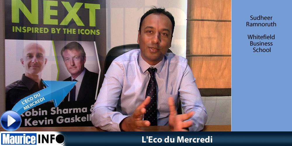 L'Eco du Mercredi - Sudheer Ramnoruth de Whitefield Business School