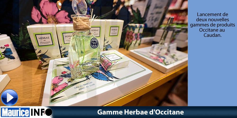 Gamme Herbae d'Occitane