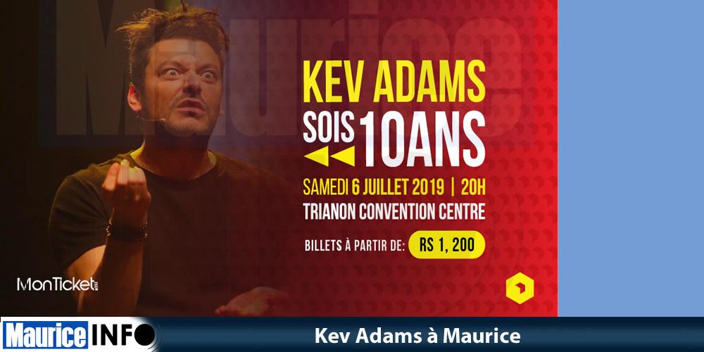 Kev Adams à Maurice