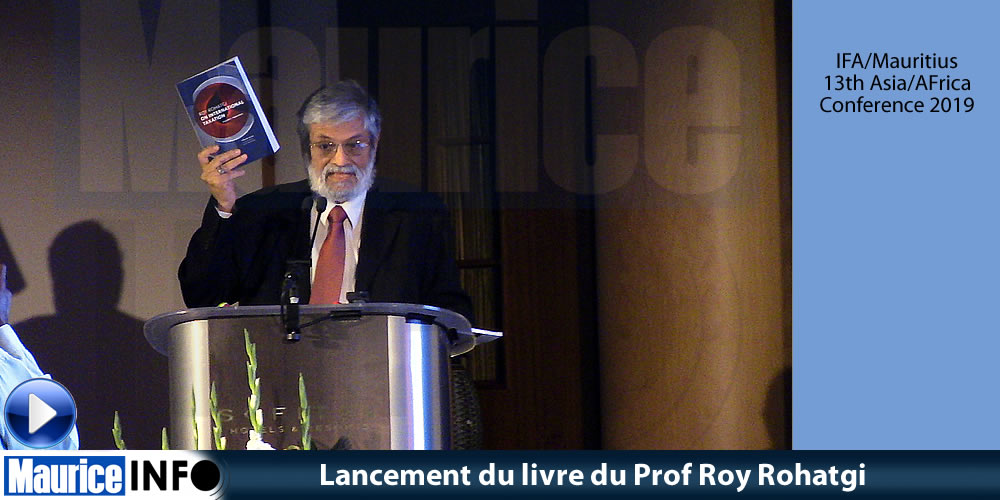 Lancement du livre du Prof Roy Rohatgi