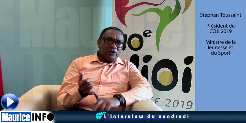 L'Interview du Vendred de Stephan Toussaint