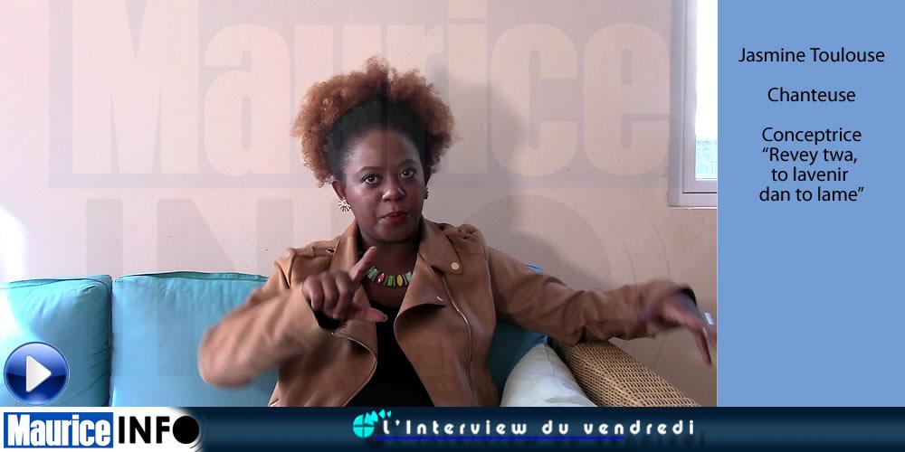 L'Interview du vendredi de Jasmine Toulouse