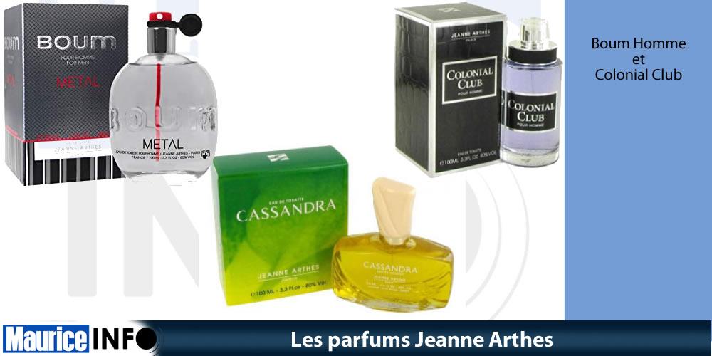 Les parfums Jeanne Arthes