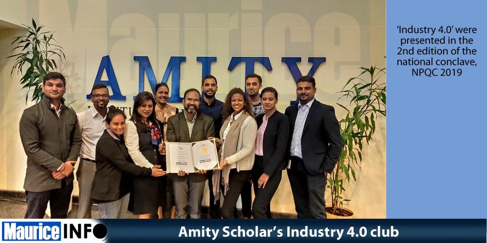 Amity Scholar Industry 4.0 club