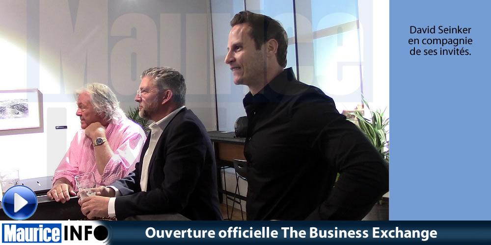 Ouverture officielle The Business Exchange