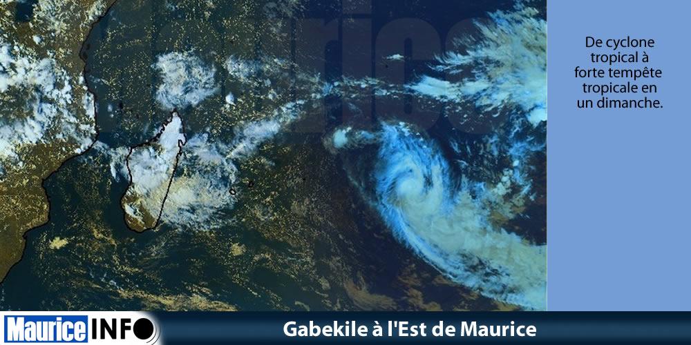 Gabekile à l'Est de Maurice