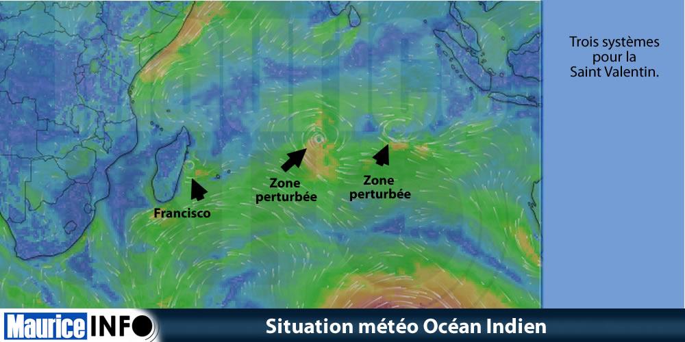 Situation météo Océan Indien