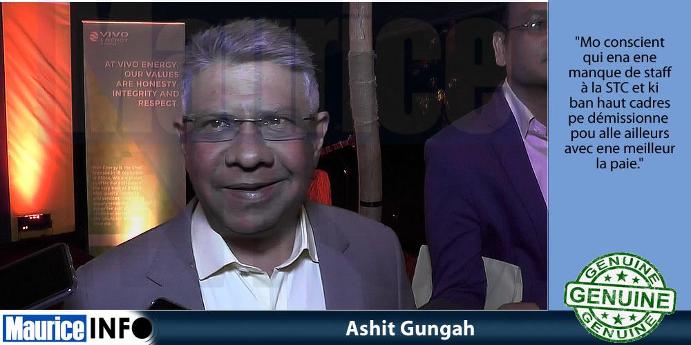 Ashit Gungah réponds à Alan Ganoo