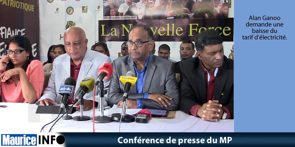 Conférence de presse du MP du 26 Janvier 2019