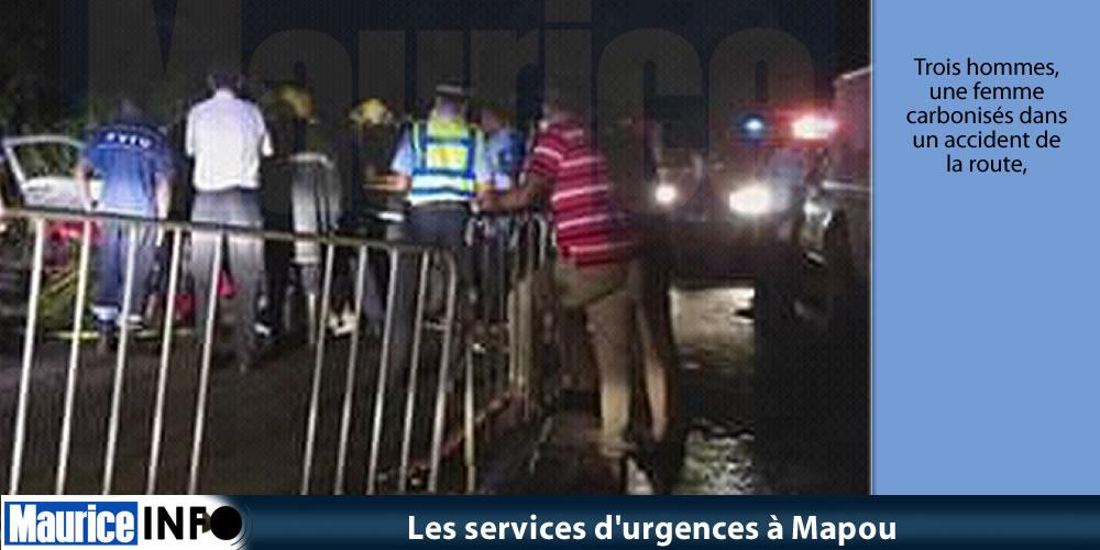 Les services d'urgences à Mapou