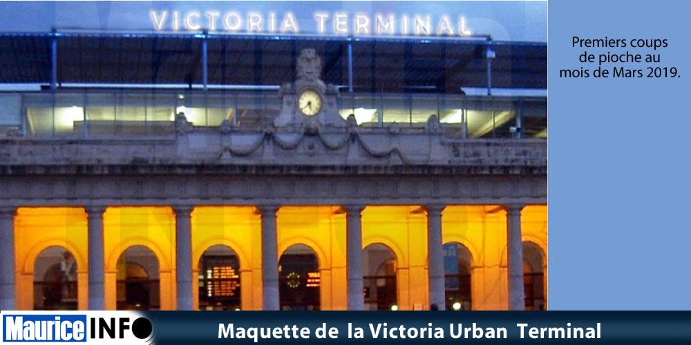 Maquette de la Victoria Urban Terminal