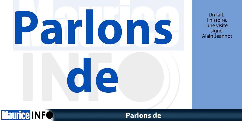 """""""Parlons de"""" avec Alain Jeannot"""