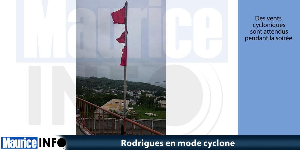 Rodrigues en mode cyclone