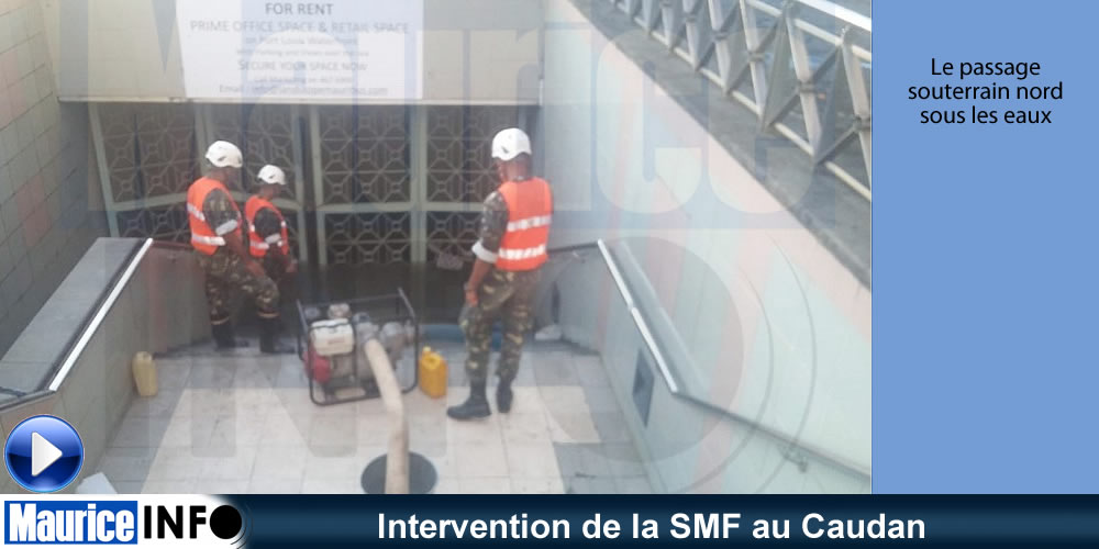 Intervention de la SMF au Caudan