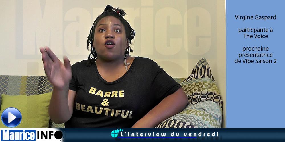 L'Interview du Vendredi de Virgine Gaspard