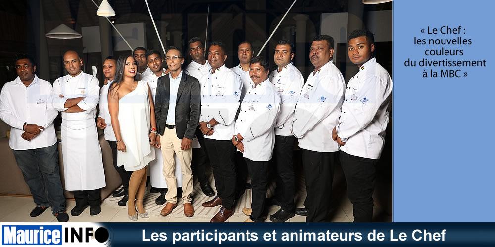 Les participants et animateurs de Le Chef