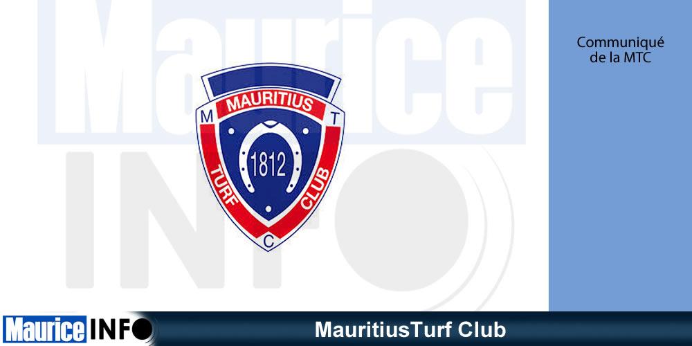 Communiqué MauritiusTurf Club - MauritiusTurf Club Communiqué